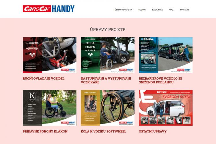 Web canocarhandy.cz